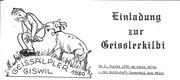 originelle Einladung zur Chilbi