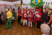 2014: auch Geisskönig Bruno ist nach Brasilein gereist