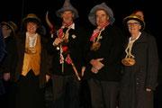 Die Beamten 2011 an der Fasnachtseröffnung in Giswil