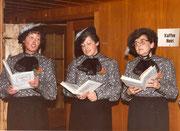 1984: Trudi Abächerli, Margrit Zünd, Gritli Mathis