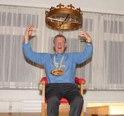 Geisslerversammlung 2010: Sepp Planzer, der neue König ist gewählt.