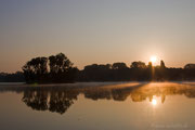 Sonnenaufgang am Sieglarer See