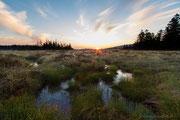 Sonnenaufgang im Großen Torfhausmoor