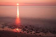 Sonnenuntegang am Weststrand