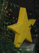 Betonfigur-Stern