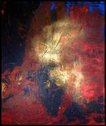 INDIAN PIRIT 2001 Mischtechnik auf Leinwand 120 x 140 cm