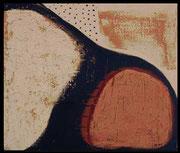 ERDEN II 2001/02 Acryl, Lehm auf Leinwand 100 x 120 cm