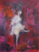 Tänzerin, Acryl 60x80 cm auf Keilrahmen 160 Euro