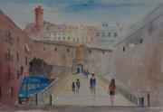 Elviras Bild von der Festung in Eivissa