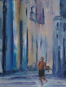 Lebenslust auf kubanisch, Acryl auf Keilr. 60x80 cm 195 Euro