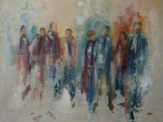 Pause, Acryl auf Keilrahmen 80x100 cm vergeben