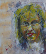 Elvira - Variation, Acryl 60x80 cm, unverkäuflich
