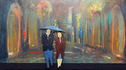 Umbrella Acryl 50x100 cm, vergebeb