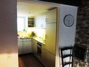 ... mit der kleinen Küche