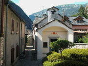 In Avegno di Dentro liegt die kleine Kapelle St.Anna ...