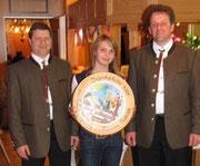 Gewinnerin der Jugendehrenscheibe Theresa Heidrich