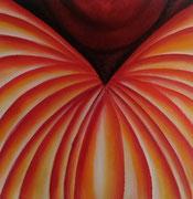 Transformation - 40 x 40 - Acryl auf Leinwand im Schattenfugenrahmen - 70,-