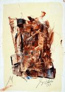 oil on cardboard, 50x35,5 cm