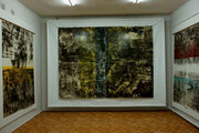 oil on cardboard, 239x320 cm