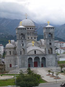 Bar die Küstenstadt von Montenegro
