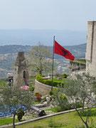 Kruje das Nationalheiligtum der Albaner