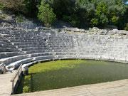 Buthrotum, wie die Stadt in der Antike genannt wurde, wurde im 7. und 8. Jahrhundert vor Christus wie eine Festung angelegt.