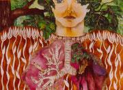 L'arbre m'air, huile sur toile, 1997 collection privée