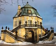 Winter auf der Festung Königstein 16.12.2012