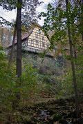 Die Keppmühle im Keppgrund bei Pilnitz, 31.10.2012