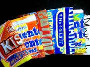monknori's sweetsシリーズの文庫本サイズのブックカバー