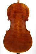 Cello after Antonio Stradivari Forma B (2010/CH), Photos: Thomas Zwillinger