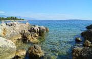 Bucht von Kristofor, Insel Rab