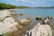 Küste bei Jezera, Insel Murter