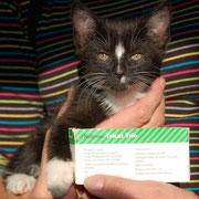 Die kleine ELSA sagt ganz lieben Dank an ihre liebe ♥ Impfpatin Susanne Reinartz ♥