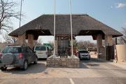 Andersson´s Gate - Westlicher Eingang zum Etosha Nationalpark