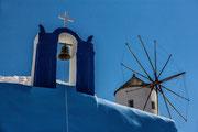 Windmühle von Oia