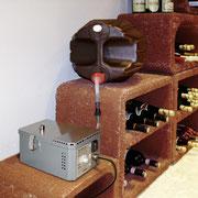 Humidificateur pour cave à vins