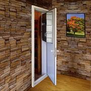 Porte avec climatiseur cave à vins intégré Montpellier