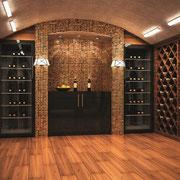 Split avec évaporateur gainable pour cave à vins Montpellier