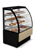 Vitrine de présentation réfrigérée boulangerie pâtisserie Montpellier