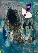 Realen und Imaginären, 2017, calcografia a olio, 15 x 21 cm