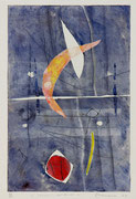 Incroci condivisi, 2011, calcografia a olio, 26 x 36 cm