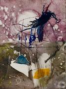Fata morgana, 2017, calcografia a olio, 15 x 21 cm