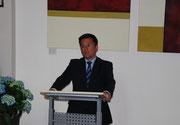 Herr Minister Kutschaty bei der Eröffnungsrede