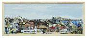 "Andreas Jonak - ""World of Hopper"" - 122 Paintings of Edward Hopper and one Selfpotrait - digital Print - 180 x 72 cm"