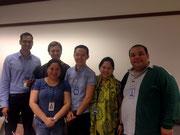 Das urban Team: Sasank, Fatima, Alexandra, Jay, Anna, Aldrin