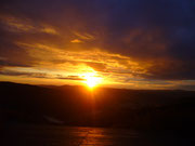lever de soleil sur Lacamp