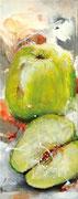 Ganny Smith, Acryl auf Leinwand, 20x50
