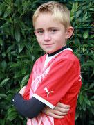 """Sean Spitzname """"Heartbreak Kid"""" (Mittelfeldspieler) Neheimer Junge seit Juli 2014 Geb. 13.04.04"""
