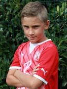 """Noah Spitzname """"der Nono"""" (Angriffsspieler)  Neheimer Junge  seit Juli 2013 Geb. 27.09.04"""